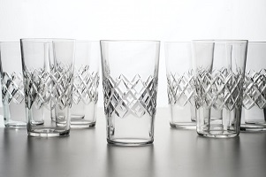 Drinking glasses for graduation gift
